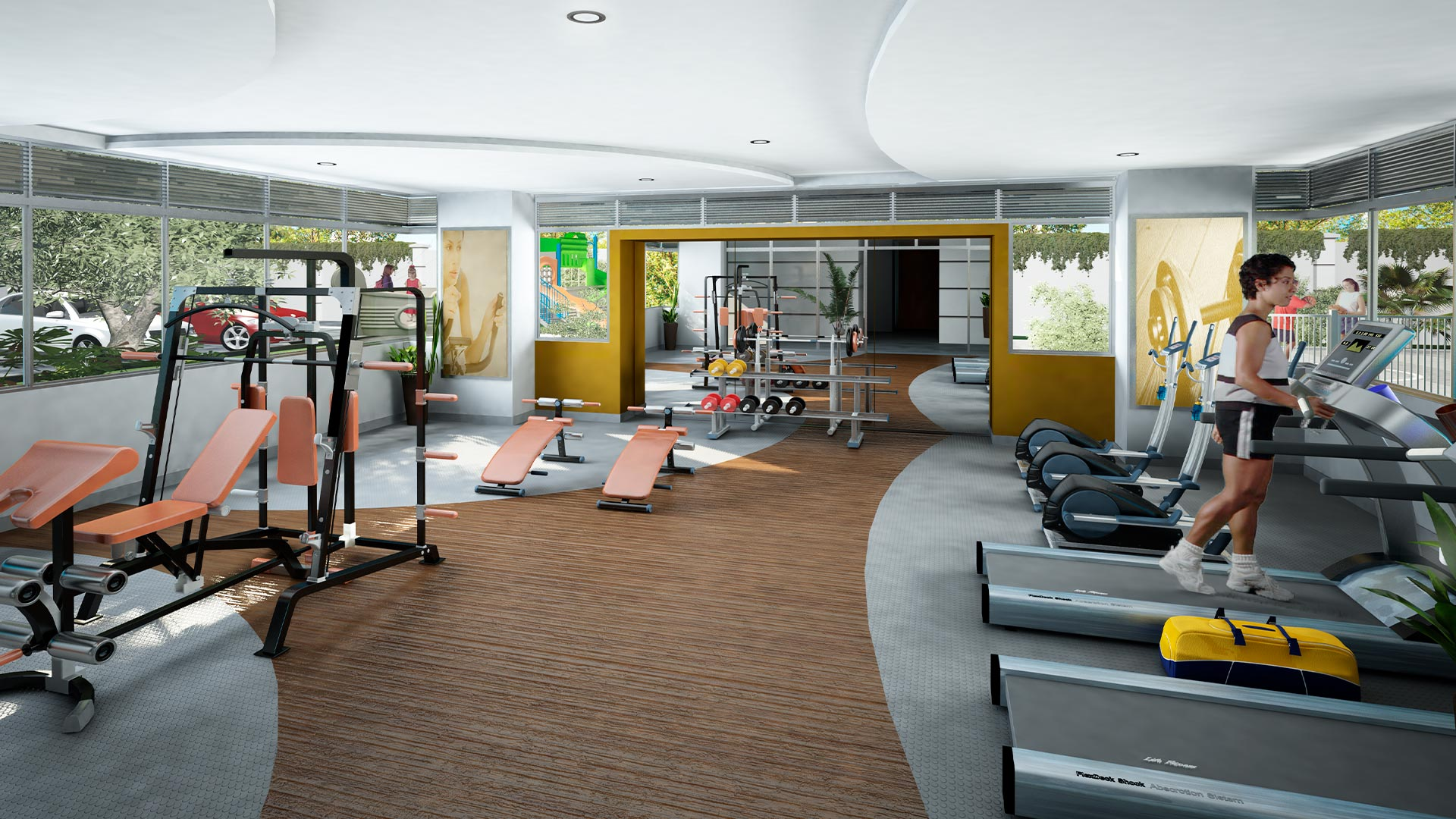 HIS.Render Gimnasio Jun22