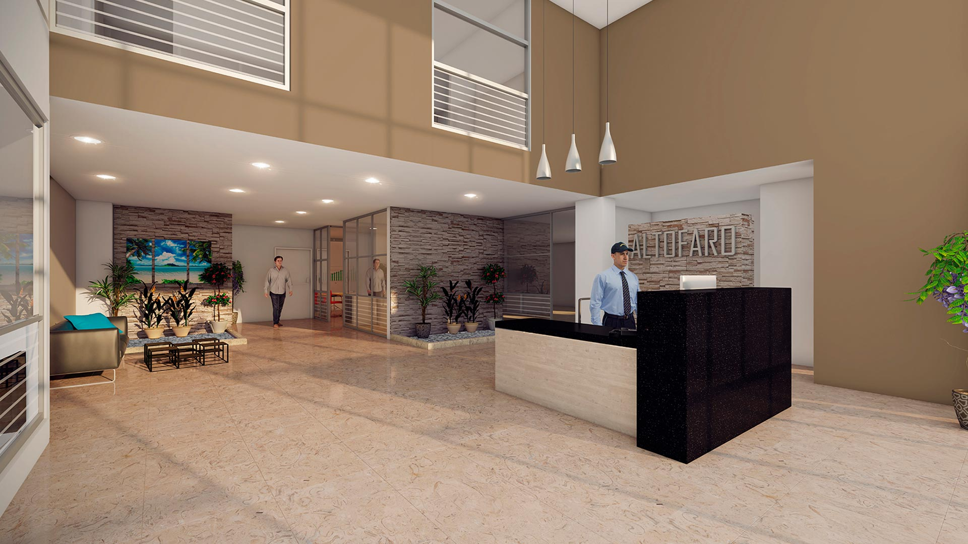 MARVAL ALTOFARO LOBBY ROTULO