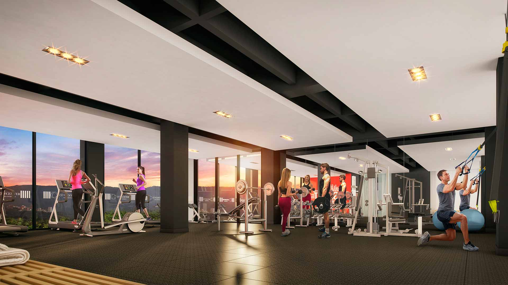 Marval CityCenter GYM Vista1 Baja
