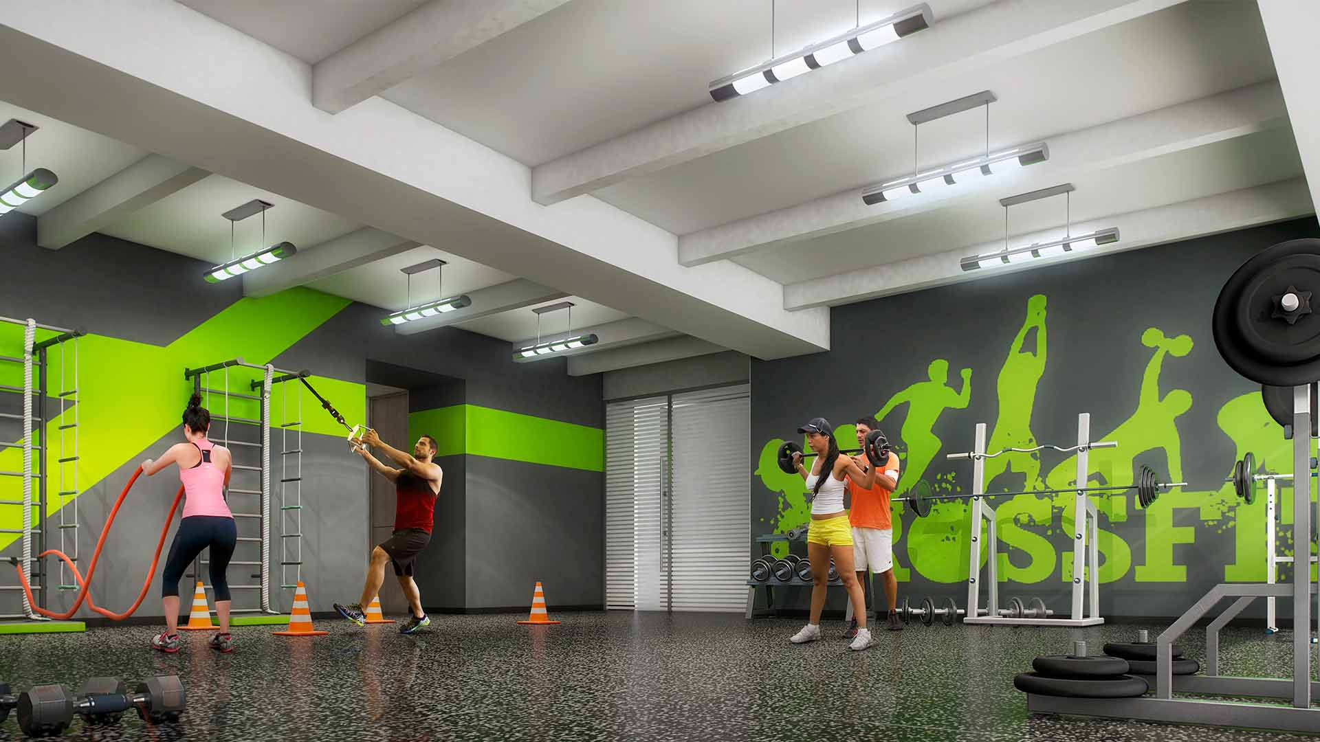 Marval City Center SaladeCrossfit Baja